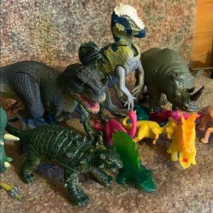 Dinosaur Plastic Figurines